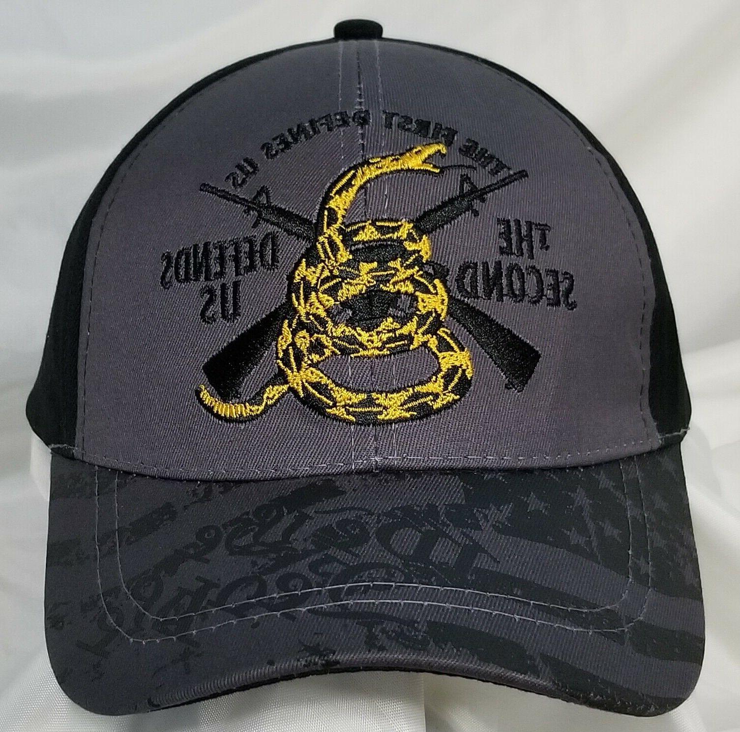 The First The Gadsden Snake 2A Baseball Hat