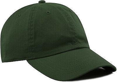 the hat depot 300n washed low profile