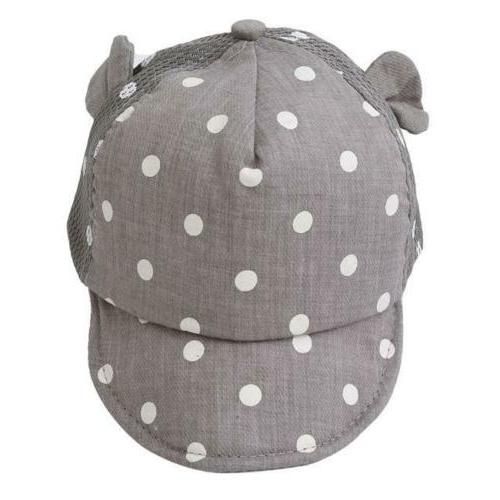 Toddler Cap Boy Ear Sun Hat