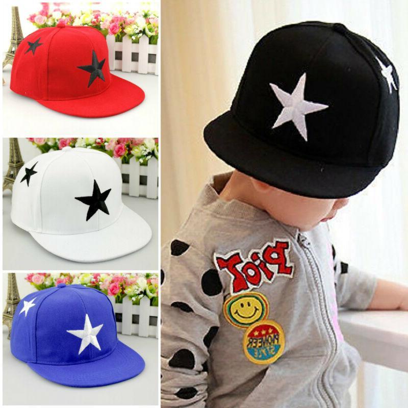 toddler kids boys girls baseball cap adjustable