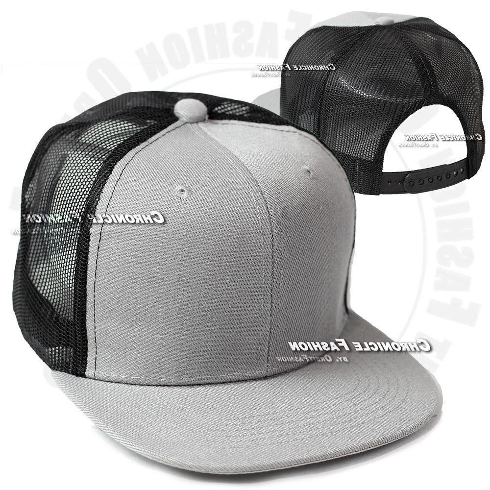 Trucker Hat Mesh Cap Snapback Adjustable Hop Mens
