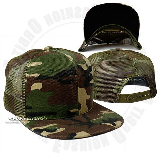 Trucker Cap Visor Solid Hip Mens
