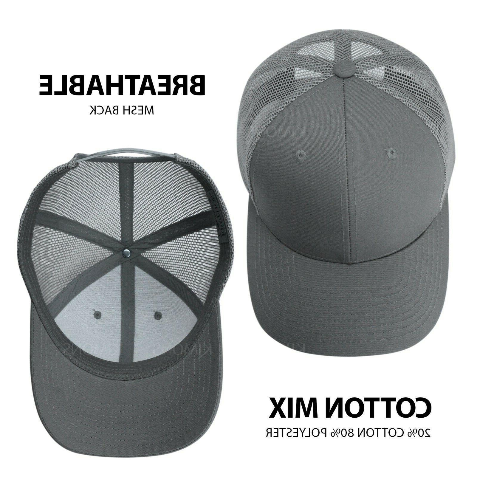 Trucker Hat Cap Snapback Visor Hop Mens