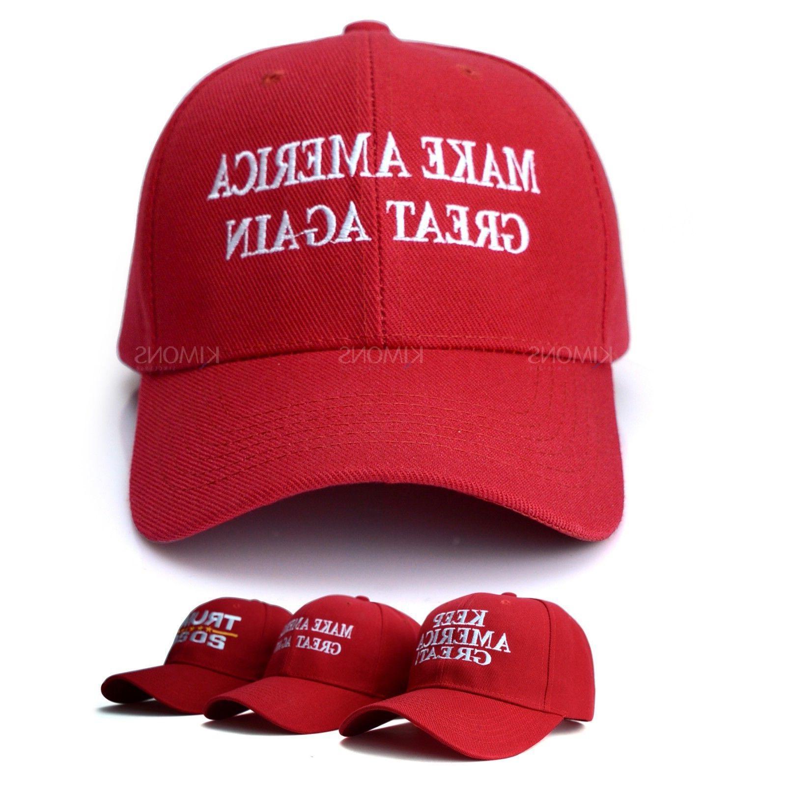 Trump Hat Make Great MAGA Baseball Flag US