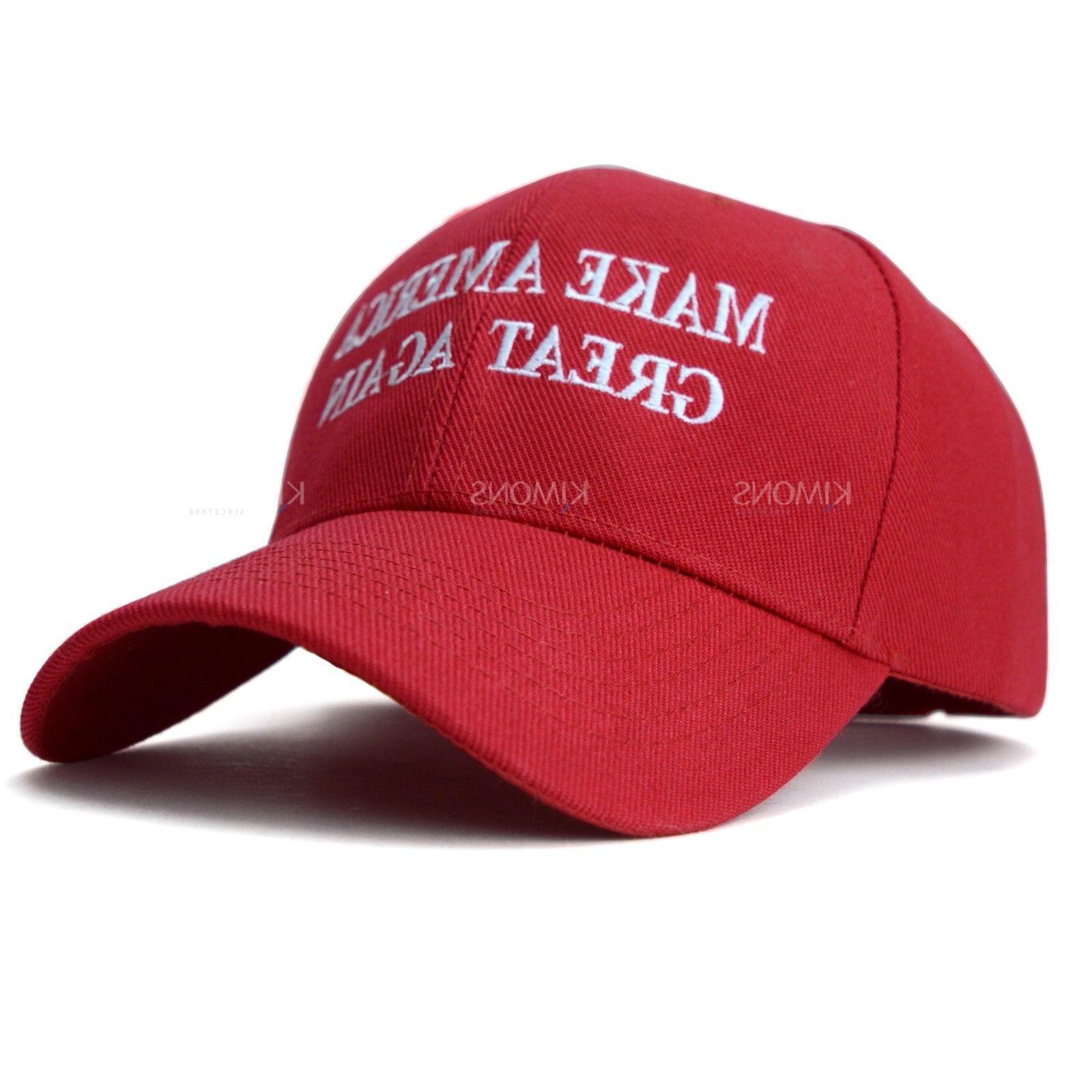 Trump Hat Cap Make Great Again MAGA RED US USA