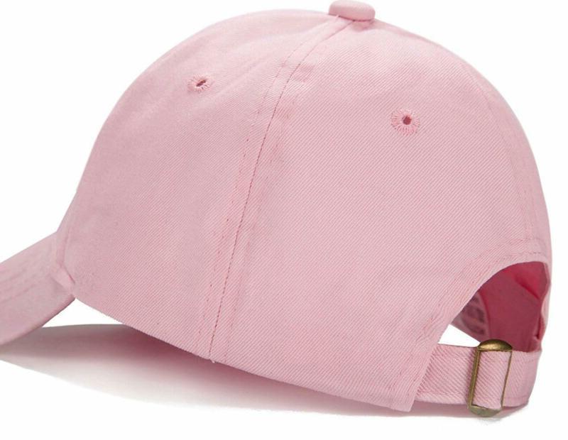 Edoneery Plain Cotton Adjustable Low Profile Hat(A