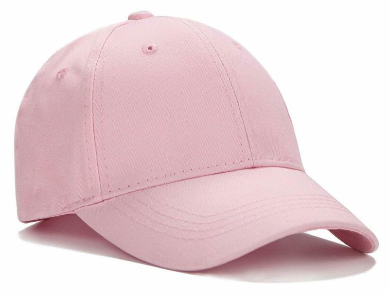 Plain Profile Baseball Cap Hat(A