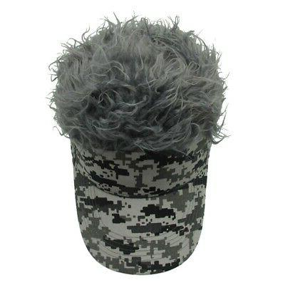 Unique Wig Baseball Novelty For Men Outdoor