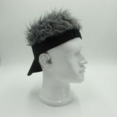 Unique Wig Adjustable Sun Cap Novelty Outdoor