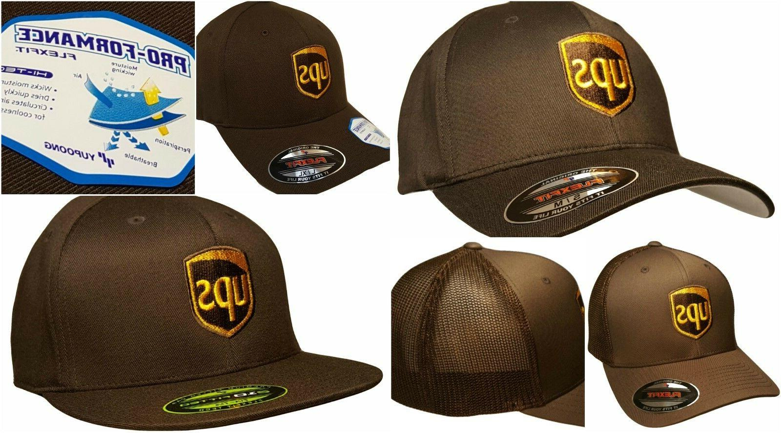UPS Embroidered Baseball Hat Many Different Styles Flexfit /
