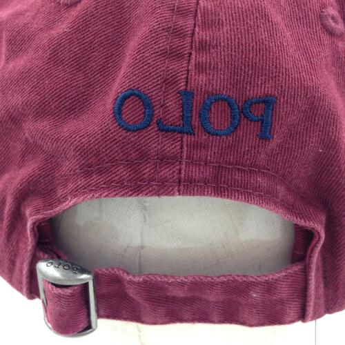 Classic Polo Embroidered Pony Baseball Cap Golf