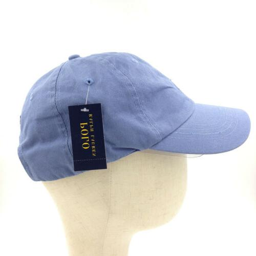 Classic Unisex Polo Embroidered Horse Pony Cap Adjustable Golf