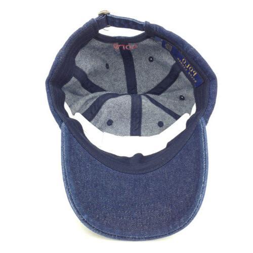 Classic Unisex Embroidered Horse Cap Adjustable