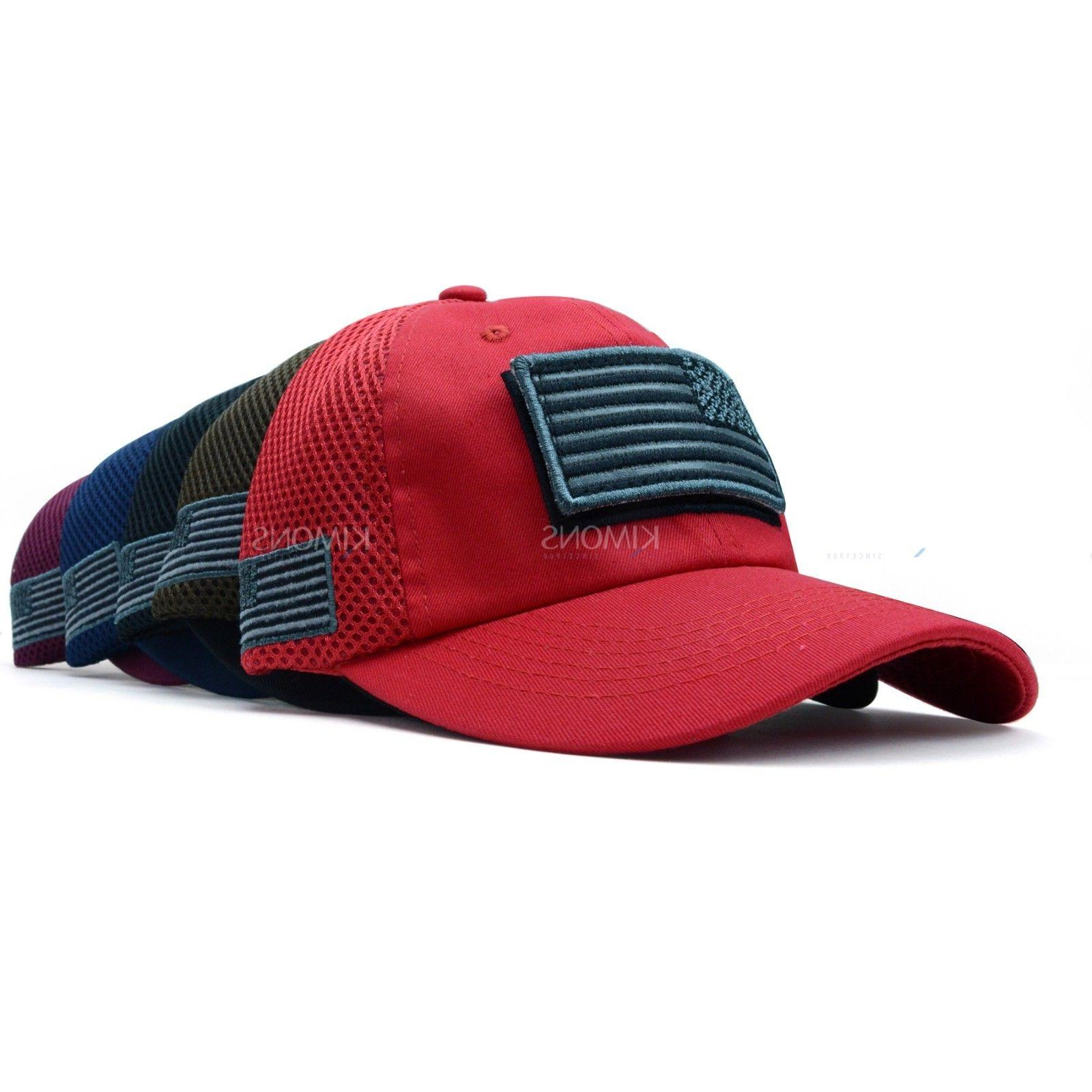 USA American Flag Detachable Baseball Cotton