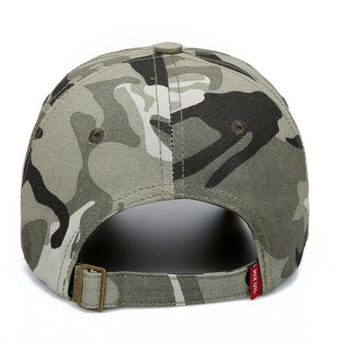 USA US Flag Baseball Mesh Tactical Camo Hat