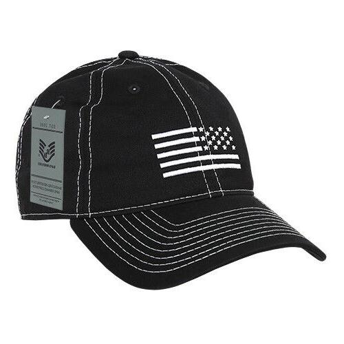 Rapid Dominance Embroidered Patriotic Relaxed Caps