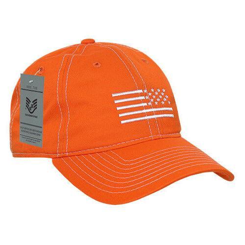Rapid Dominance USA Embroidered Patriotic Caps