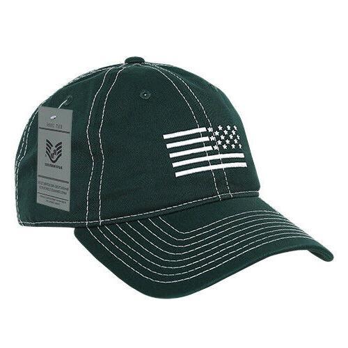 Rapid USA Flag Embroidered Caps Unisex