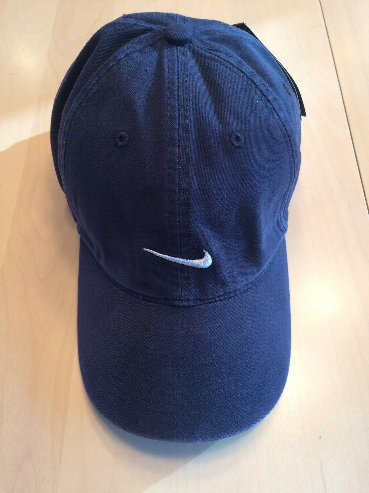 vintage baseball golf hat strapback embroidered swoosh