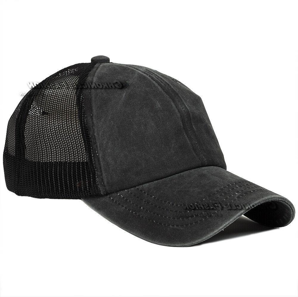 Mesh Cap Polo Adjustable Baseball Caps