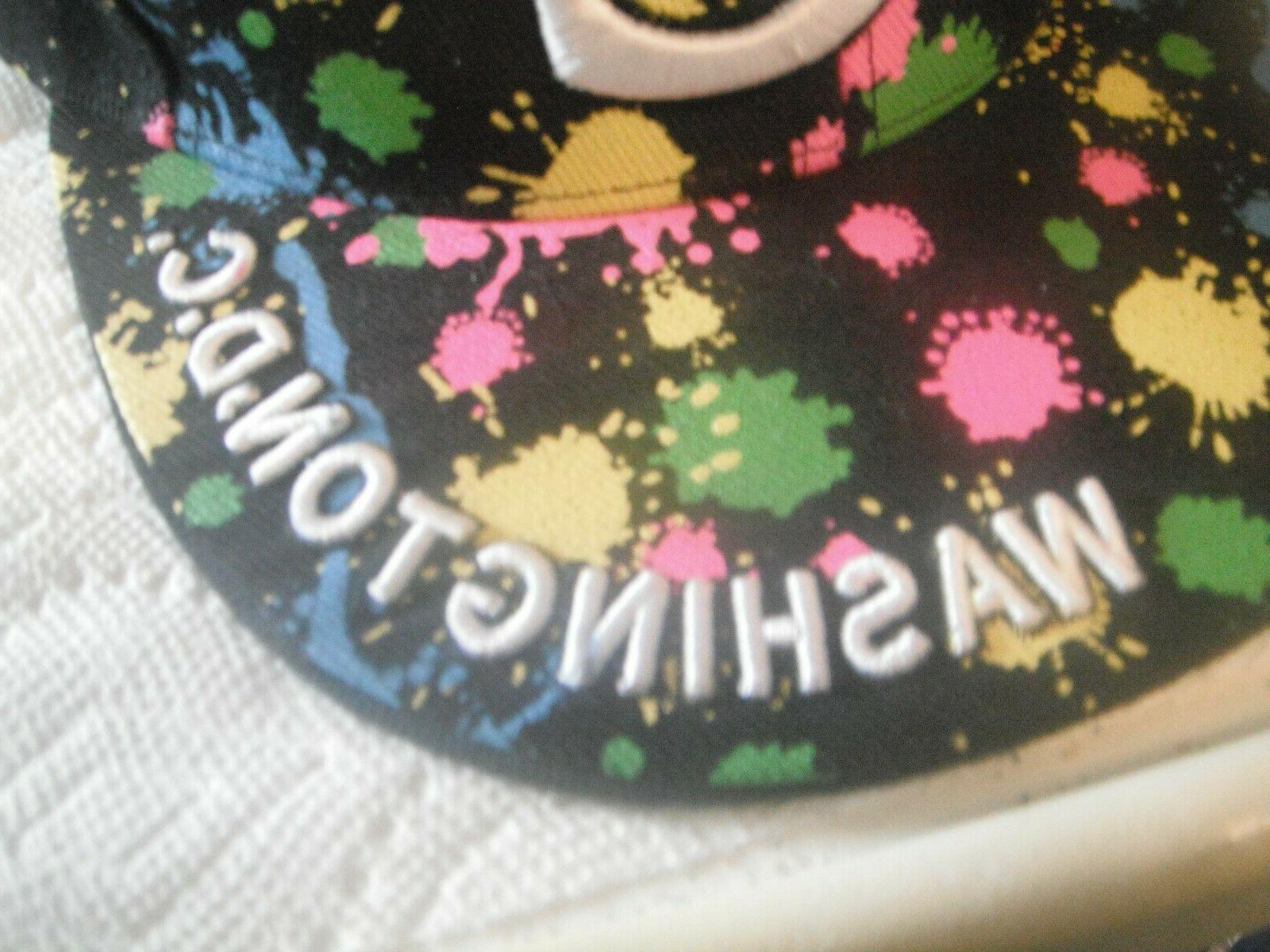 Washington DC Embroidered Baseball Cap/hat - - Hunter