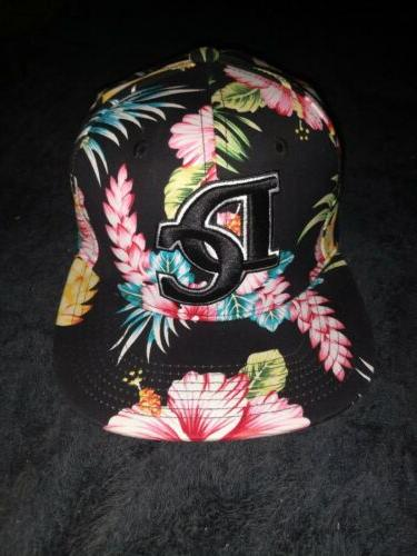 washington dc ultimate fitted baseball cap floral