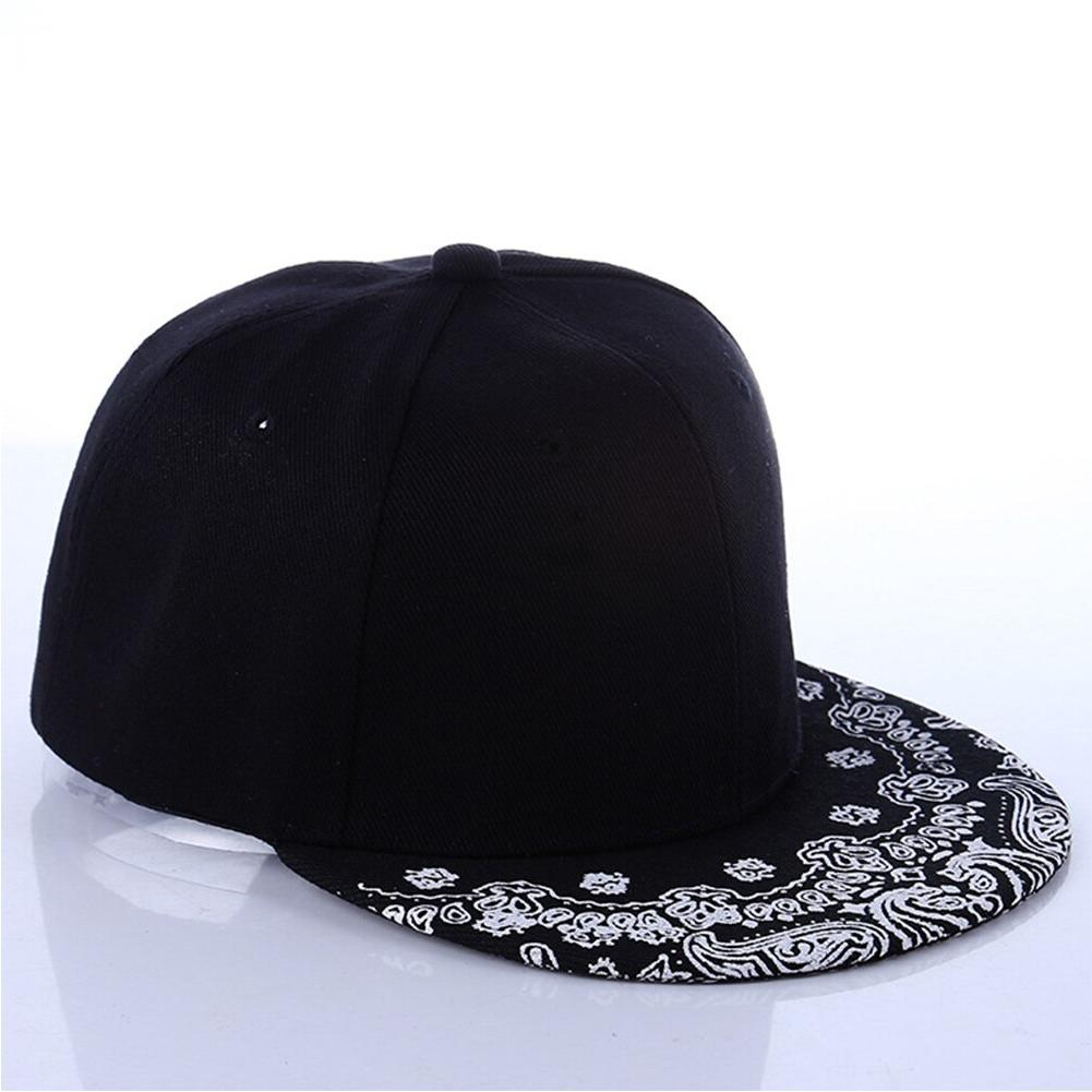 White Black Man Women Summer Cap Sun Hip Hop Caps