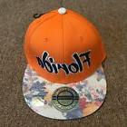 City Hunter Womens Snapback Florida Baseball Cap Hat Orange