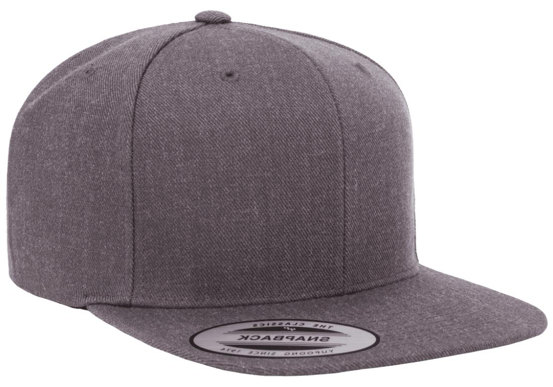 yupoong classic snapback baseball cap plain blank