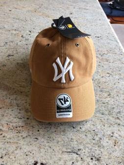 db69dd9ce6017 Limited Carhartt New York Yankees  47 MVP Brown Baseball H