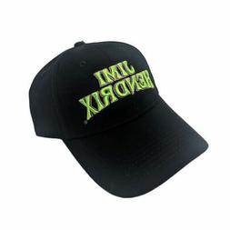 Jimi Hendrix Logo Black Baseball Cap Dad Cap Hat - One Size