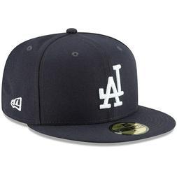 Los Angeles LA Dodgers Fitted Hat New Era 59FIFTY Cap MLB Ba