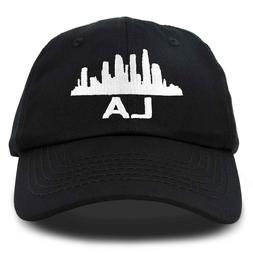 DALIX Los Angeles Mens Baseball Cap Womens Dad Hat LA City i