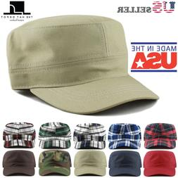 The Hat Depot  Cotton Twill Military Army Caps Cadet