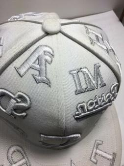 Major League Baseball City Hunter MLB Teams Hat Size S White