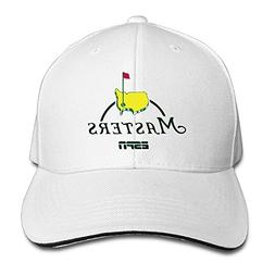Masters Golf Logo Sandwich Visor Low Profile Pro Style Caps