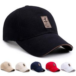 Men's Adjustable Baseball Cap Casual Leisure Hats Fashion Bo