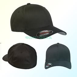 men s athletic baseball fitted cap black
