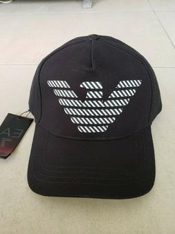 Emporio Armani EA7 Men's Baseball Cap/Hat Black