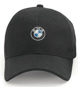 BMW Men's Baseball Cap, Roundel Logo Hat, 6 Panel Cotton Twi