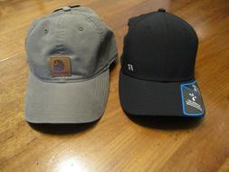 Men's Carhartt Baseball hat adjustable and a Russell hat siz