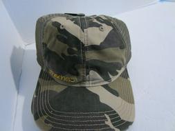 Carhartt Men's Brandt Hat Burnt Olive Snapback Mesh Back Bas