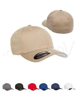 15% sale Flexfit Men Cotton Twill Fitted Baseball Plain Hat