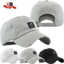 Men's Dad Hat Hustle Patch Baseball Cap Cotton Vintage Adjus