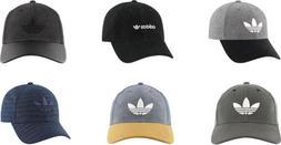 adidas Men's Originals Trefoil Plus Precurve Cap, 6 Colors