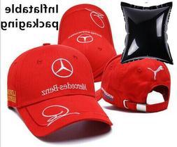 Men Women Car cap baseball hat F1 racing sports motor hat fo
