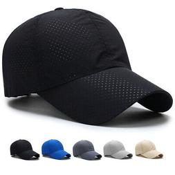 Men Women Plain Mesh Baseball Ball Dad Hat Adjustable Sport