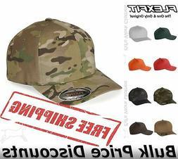 Flexfit Mens Cotton Blend Cap Hat Baseball 6277 mid-profile,