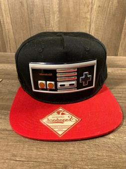 MENS Nintendo GAME CONTROLLER NOVELTY BLACK BASEBALL  HAT SN