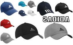 Adidas Mens/ Kids Sports Peak Cap Baseball Hat 3 Stripes Adj